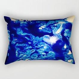 Glass Blues Rectangular Pillow