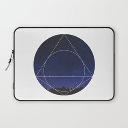 Magical Universe - Geometric Photographic Laptop Sleeve