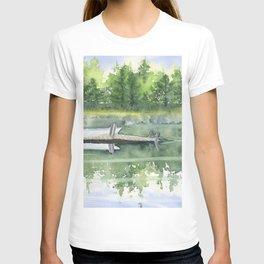A Summer Pond T-shirt