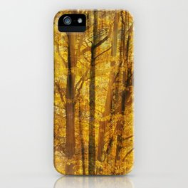 Woodland Chaos iPhone Case