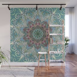 Mandala Flower Bloom Wall Mural