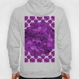 Just for Fun - Large Peony With Tiny Peonies #decor #society6 #buyart Hoody