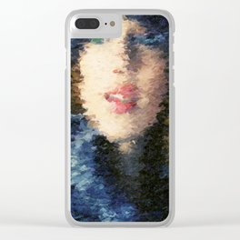 Uncertainty Clear iPhone Case