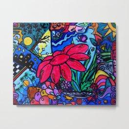 Flowerlife Metal Print