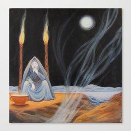 Hecate - Full Moon - Halloween 2014 Canvas Print