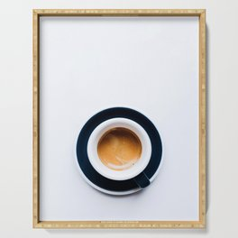 Coffee Wall Art Serving Tray