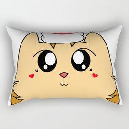Christmas Cute Kitty Cat Rectangular Pillow