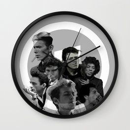 Playlist Wall Clock