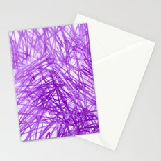 Ophelia Purple Stationery Cards