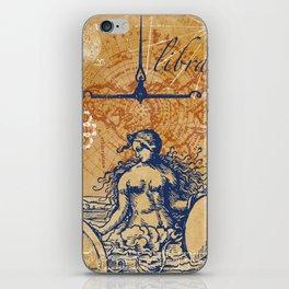 libra | waage iPhone Skin
