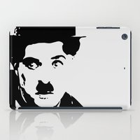charlie iPad Cases featuring Charlie by Liam Schultz
