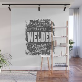 Welder Work Job Title Gift Wall Mural