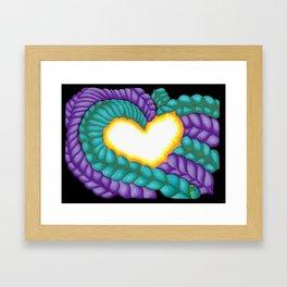Tangled Love - Mazuir Ross Framed Art Print