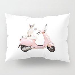 Ciao Chihuahua Pink Pillow Sham