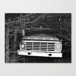 Grandpa's Ford Canvas Print