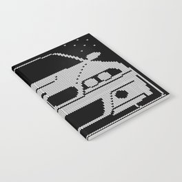 E46 Ugly Christmas Sweater Notebook