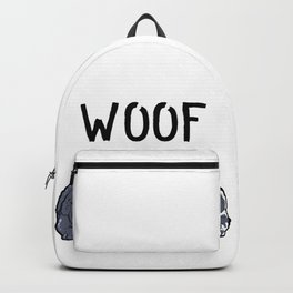 Newfoundland Dogs Woof Doggies Puppies Dog Gift Backpack