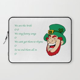 We are the irish O O Laptop Sleeve