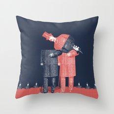 Menswear Throw Pillow