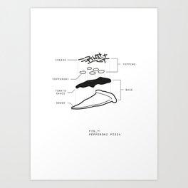 Fig 1 WHT Art Print