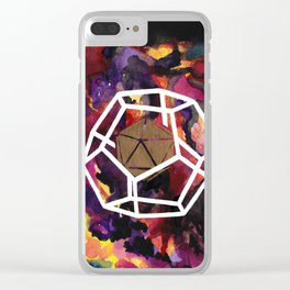 Fundamentals of Being: Dual 3 Clear iPhone Case