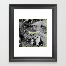Night In Los Angeles Framed Art Print