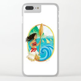 Explorer of the sea Clear iPhone Case