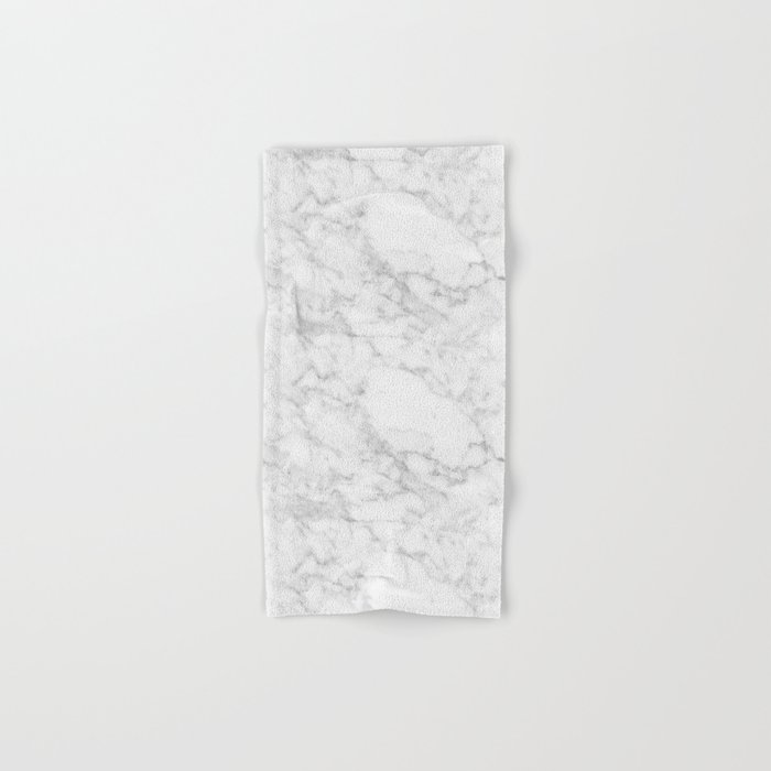 White Marble Edition 2 Hand & Bath Towel