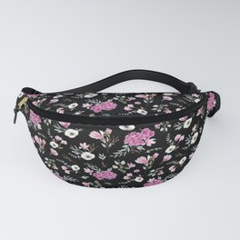 Liberty Black Pattern Fanny Pack