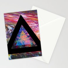 Marble Triangle Stationery Cards
