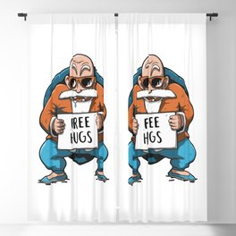 Free Hugs Blackout Curtain
