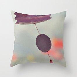 Romantic Lantern Throw Pillow
