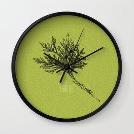 Cedrus Wall Clock