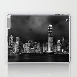 Hong Kong Skyline [Black & White] Laptop & iPad Skin