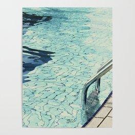 Summertime swimming Poster