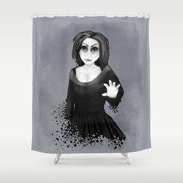 Disintegration Shower Curtain