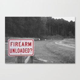 DON'T SHOOT Canvas Print