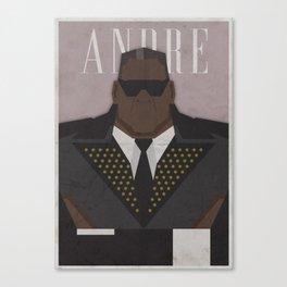 André Canvas Print