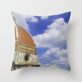 Duomo's Cupola - Florence Throw Pillow