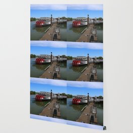 Delta King  Riverboat Wallpaper