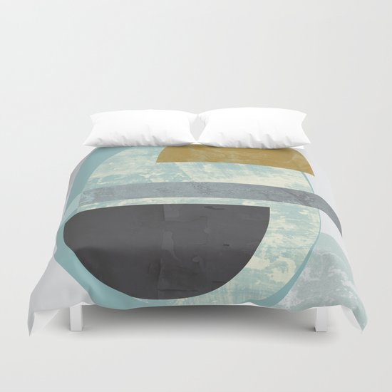 Pastel colours print Duvet Cover