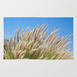 Foxtails on a Hill Rug