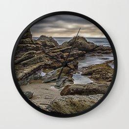 Moss Point Laguna Beach Wall Clock