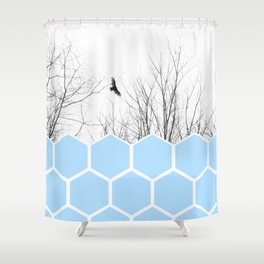 Volute Shower Curtain