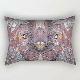 """""""Face in the Tree"""" Pacific Madrone Reflection Rectangular Pillow"""
