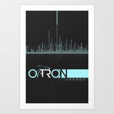 Tron Minimalist Art Print