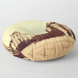 Paris. Palais du Louvre, Pavillon Mollien 1859 Floor Pillow
