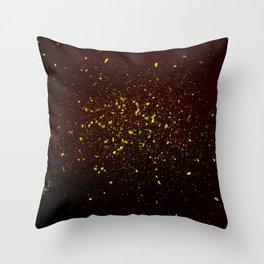 gold dust Throw Pillow