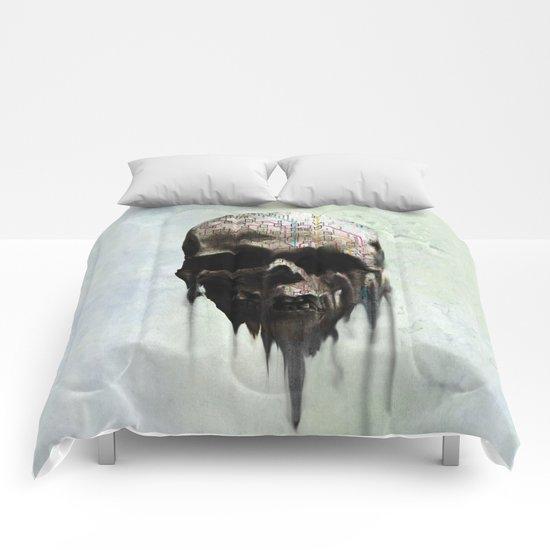 Skull Tokio Comforters