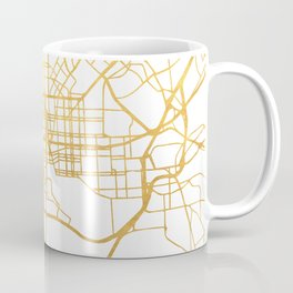 BALTIMORE MARYLAND CITY STREET MAP ART Coffee Mug